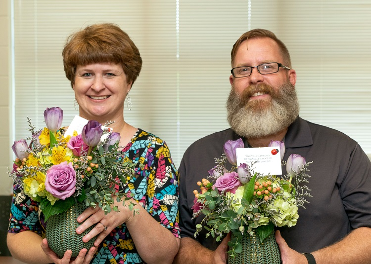 Teacher of the Year and Support Staff of the Year