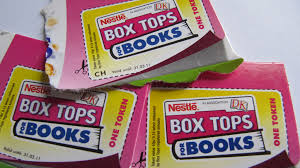Bring in Your Box Tops!