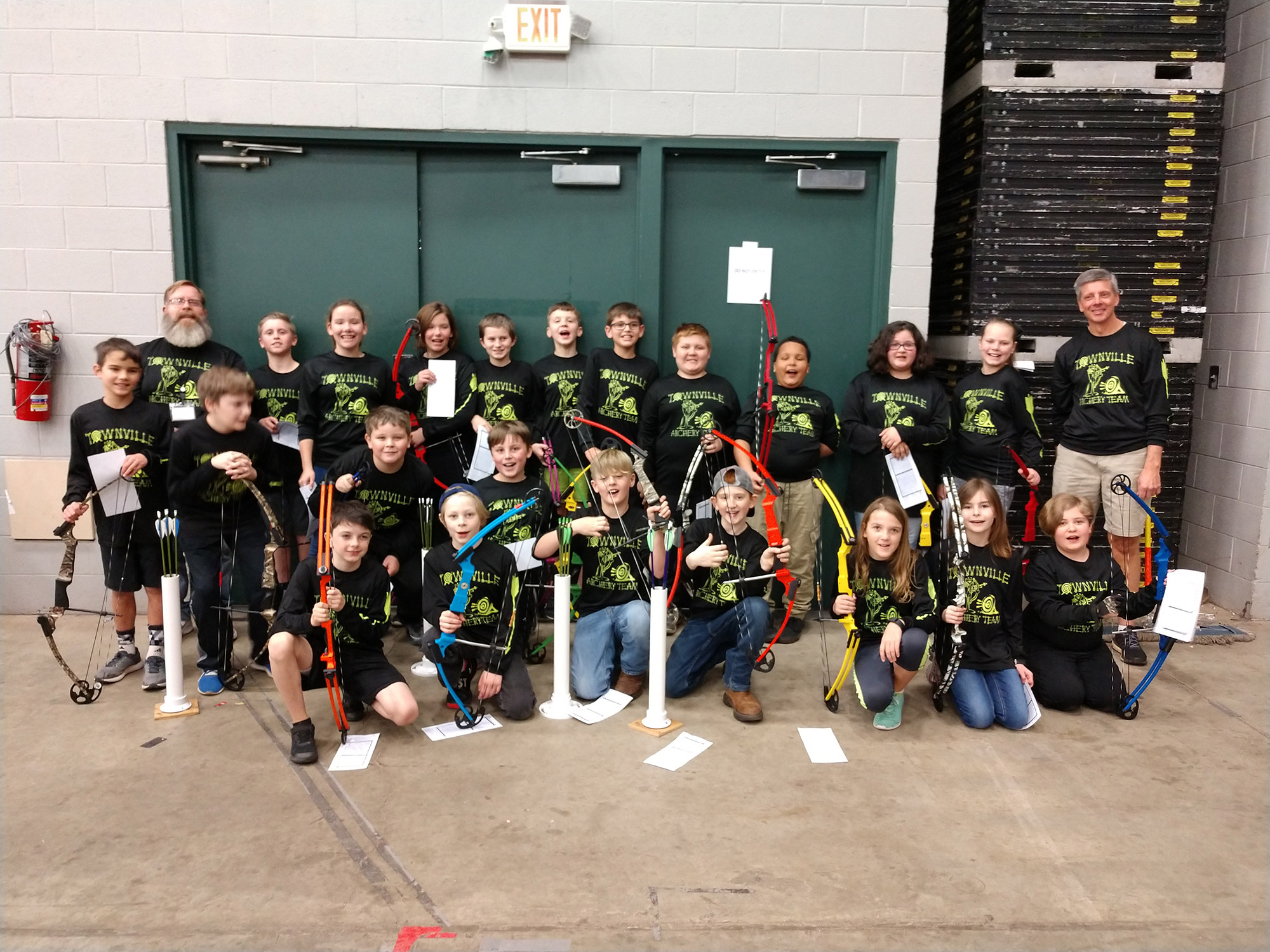 Anderson 4 Archery Teams