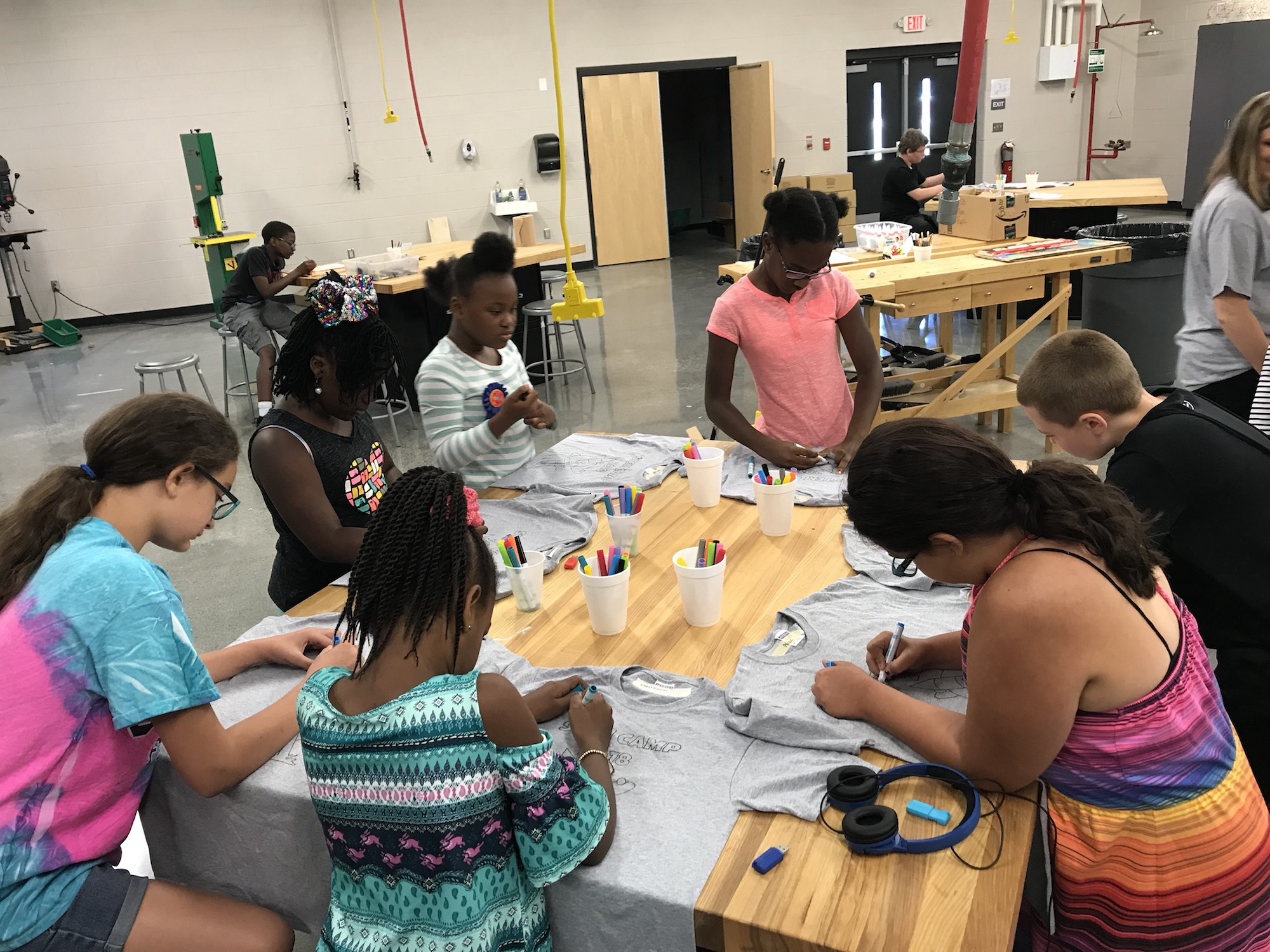 GCPS CTE Summer STEM Camp