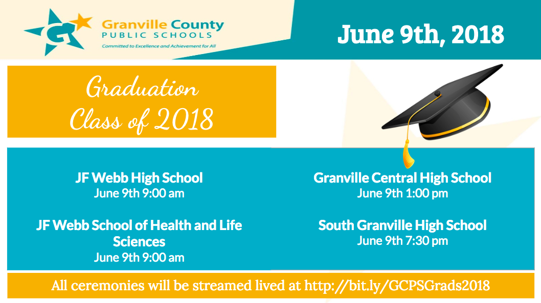 GCPS Graduation Ceremonies