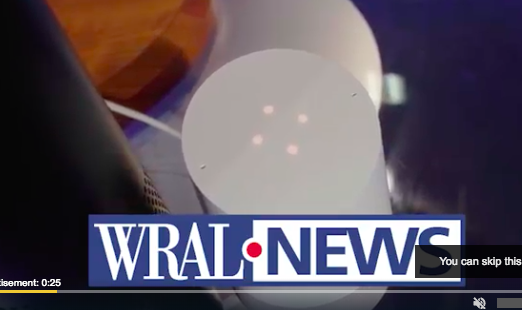 WRAL TV at GCHS 1/22/2019