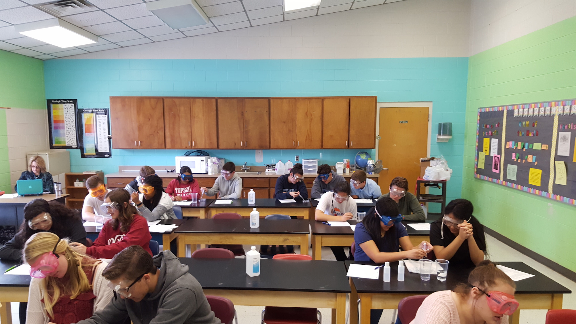 Granville Online Chemistry Students