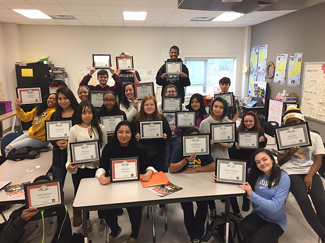 Students complete Financial Literacy Class