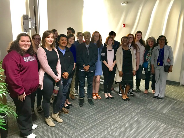 SGHS Yearbook Students Visit ABC11