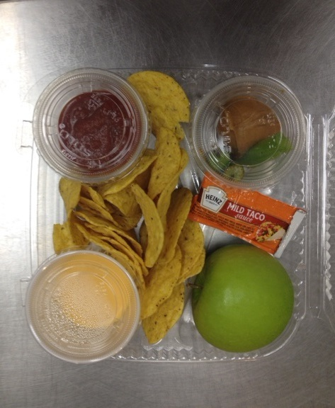 The nutritious quick pick meal available at all GCPS elementary schools