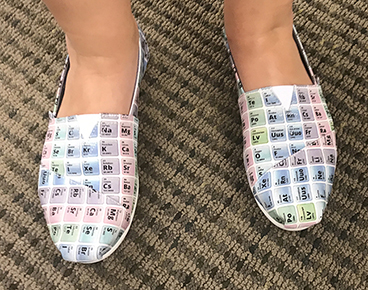 Emily Nemitz: Periodic Table Shoes!