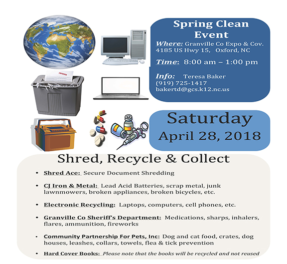 Earth Day Spring Clean Event