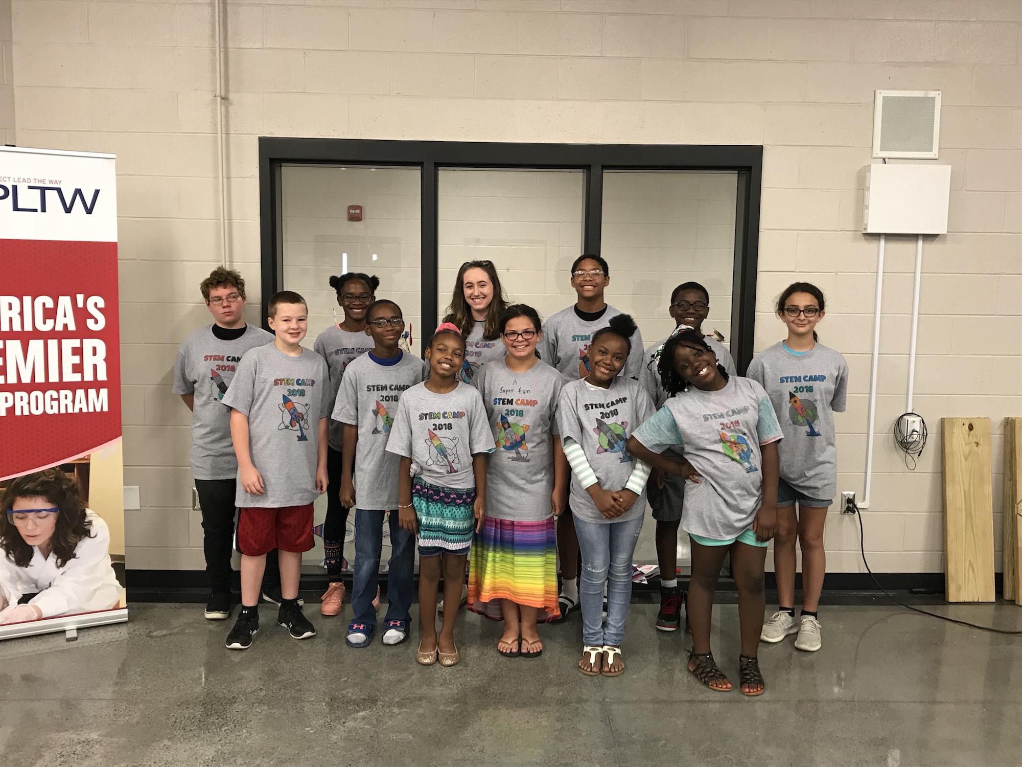 GCPS CTE Summer STEM Camp 2018