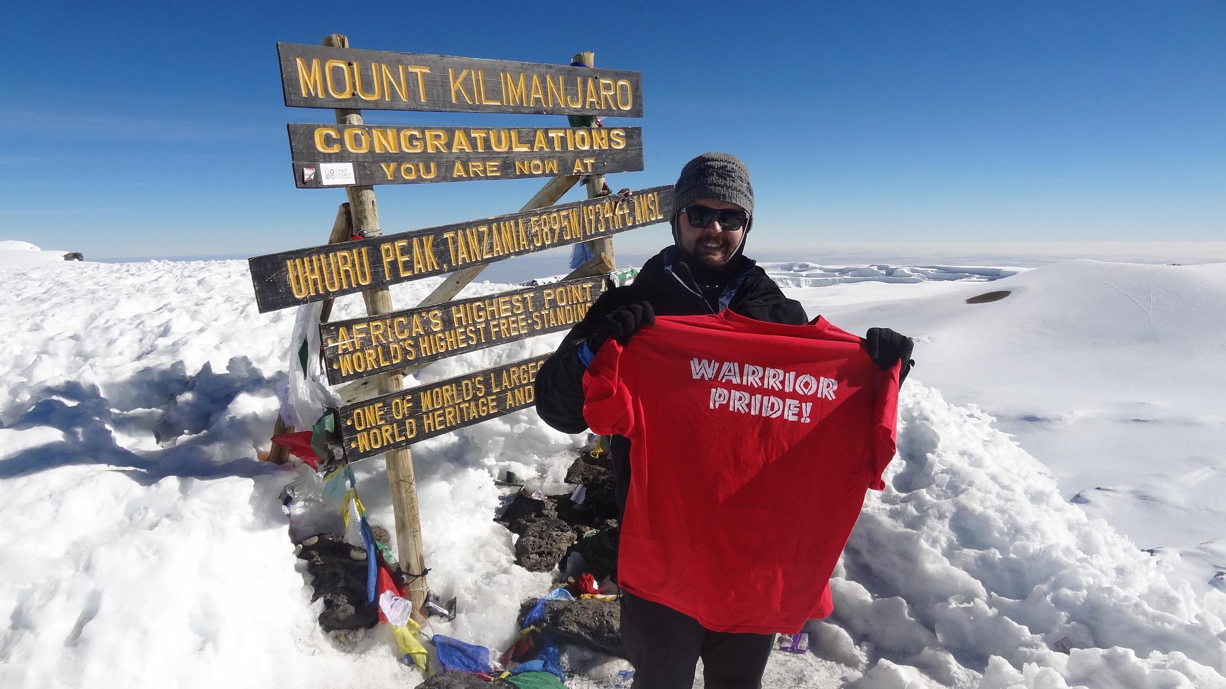 Brian Holtshouser & JFW HS Band: Mt. Kilimanjaro!