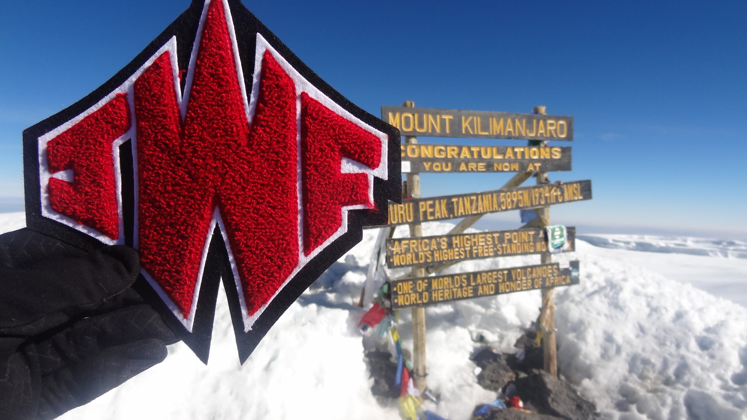 Brian Holtshouser & JFW HS Band: Climbed Mt. Kilimanjaro!