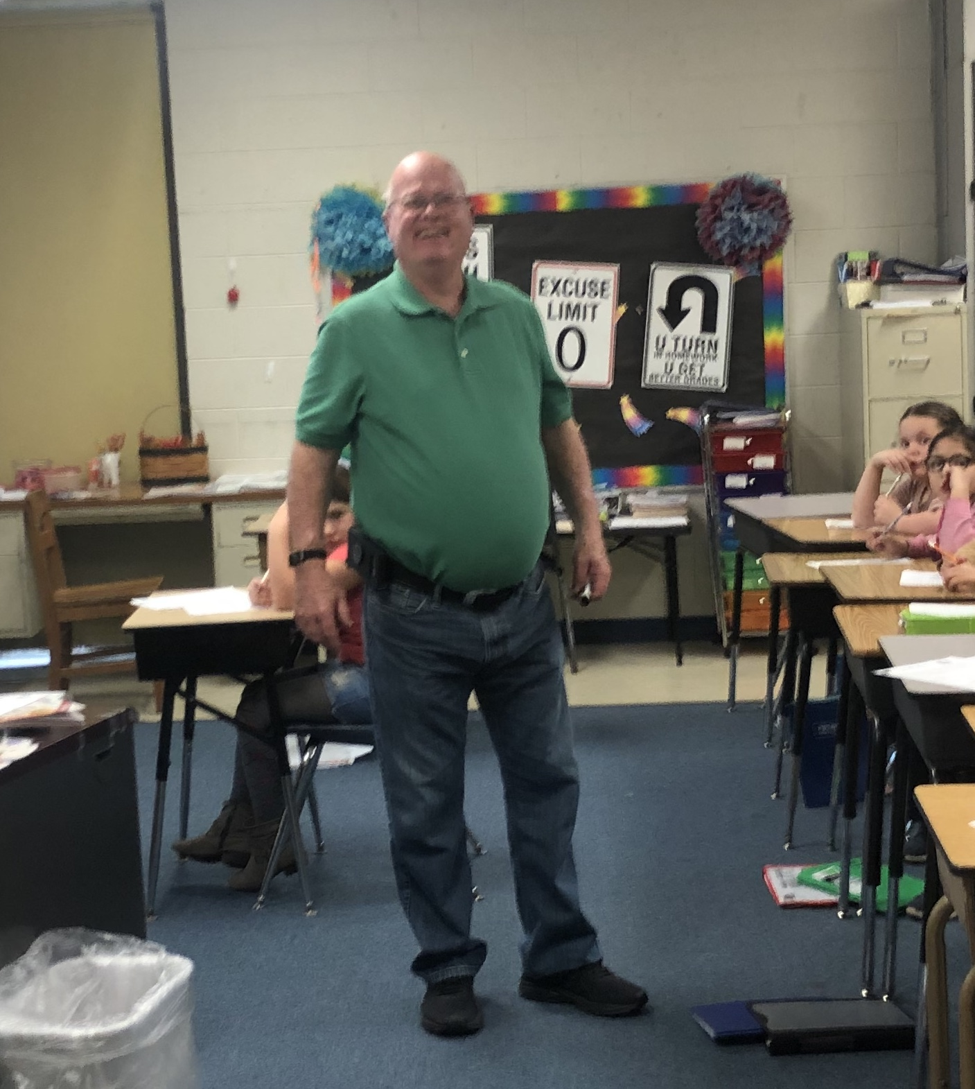 MES TEACHER OF THE YEAR-Charlie Gipson