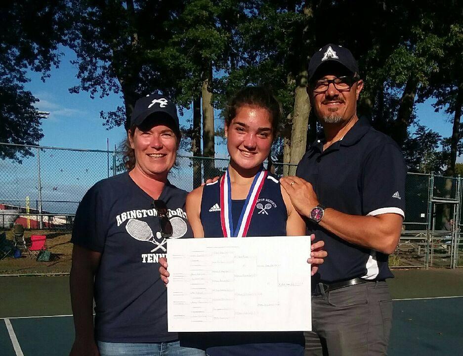 Bella Peters District II AAA Singles Champion