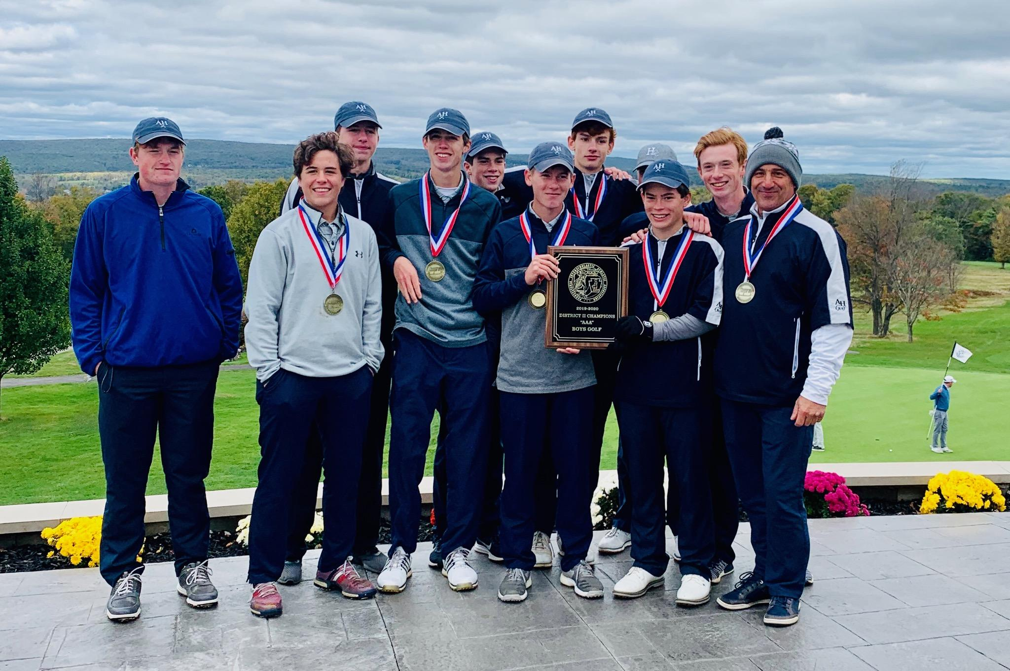 Boys Golf District II AAA Team Champions