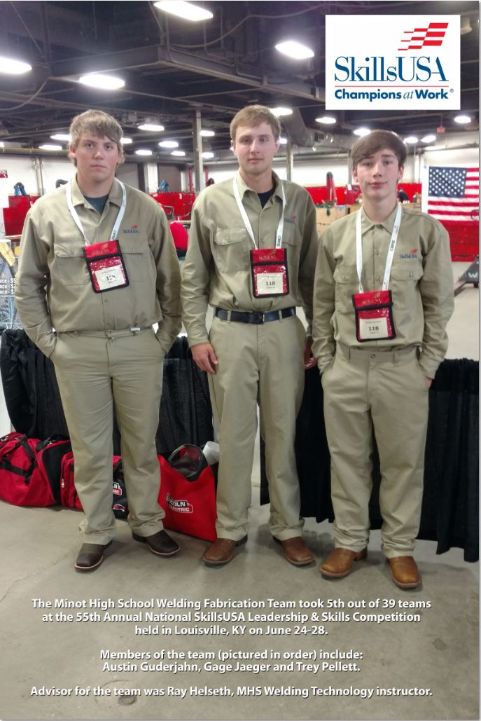 SkillsUSA Champions at Work