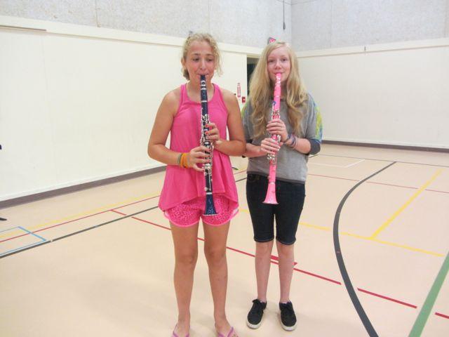 Summer Band Ensemble Practice