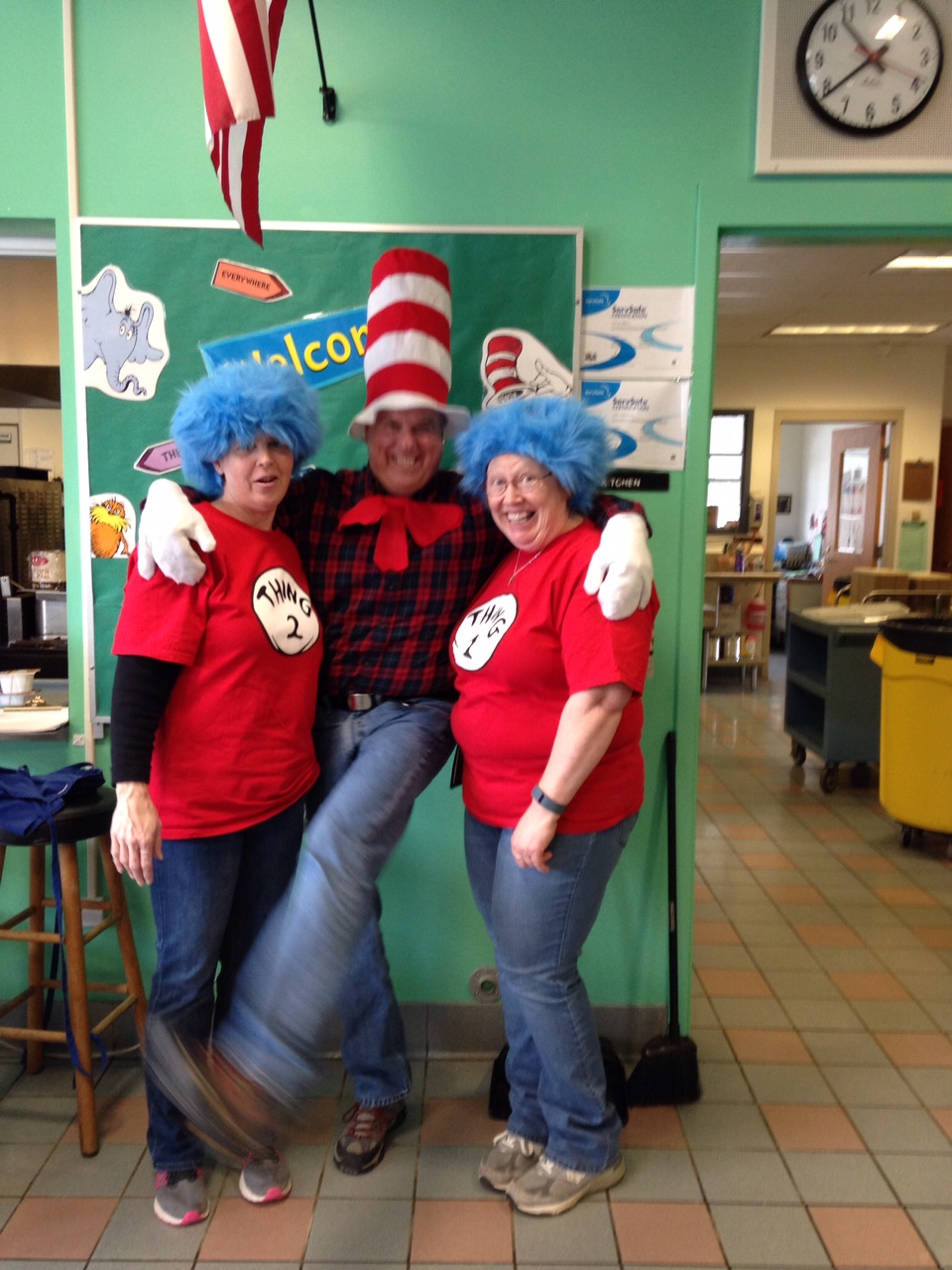 Dr Seuss Day at Songo Locks Cafe