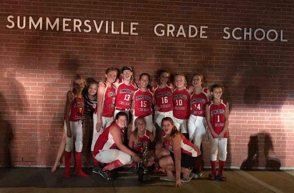 Summersville Regional Softball Champions!