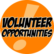 Volunteers Needed for our Annual Events throughout the year