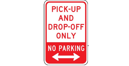 PICK UP & DROP OFF ONLY