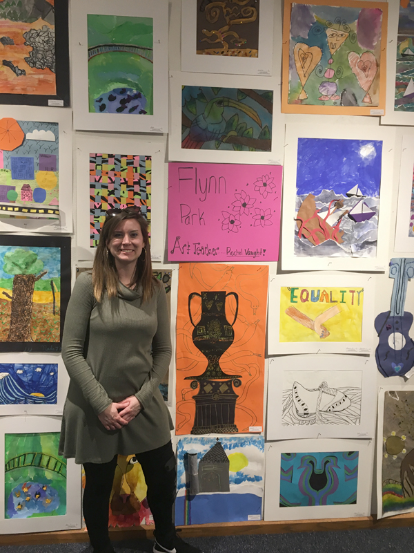 Student Art Exhibit open til March 31