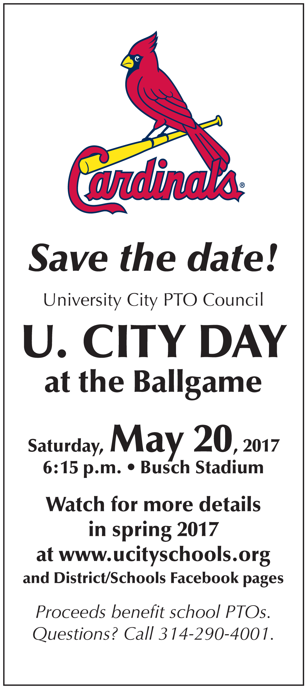 Mark Your Calendar: May 20, 2017
