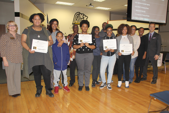 2017 MLK Student Leadership Award Winners