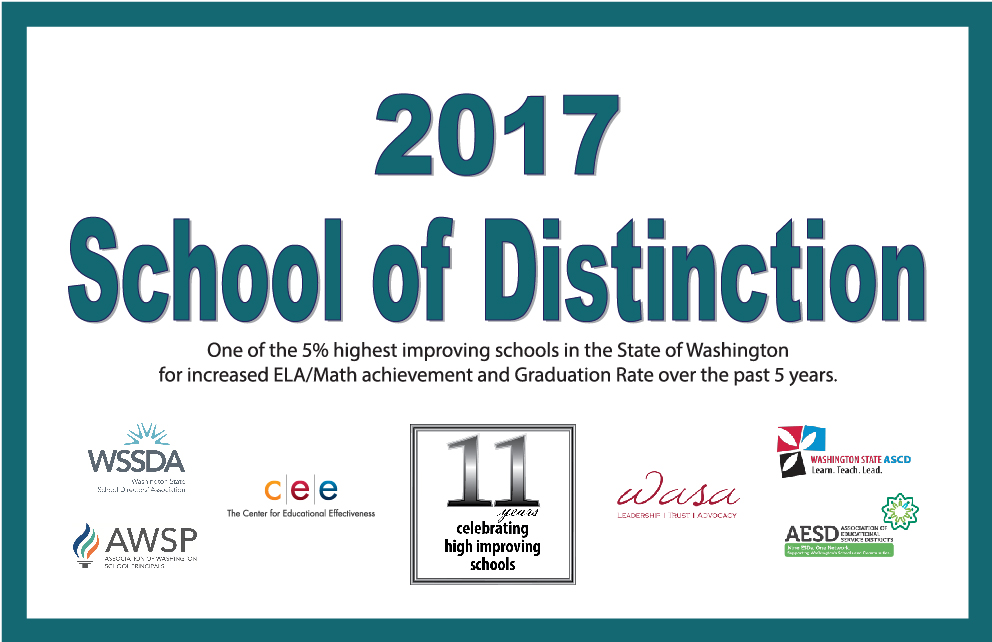 Grant Named School of Distinction!!