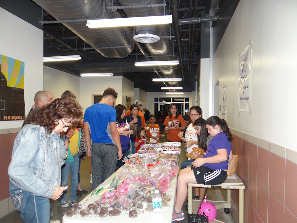 Bake Sale for the Coyote Closet