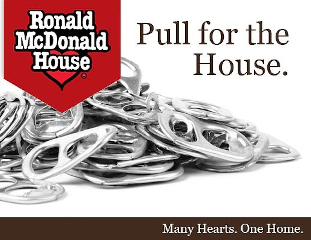 WAMS collects pop tabs for the Ronald McDonald House. Please drop them off in the office.