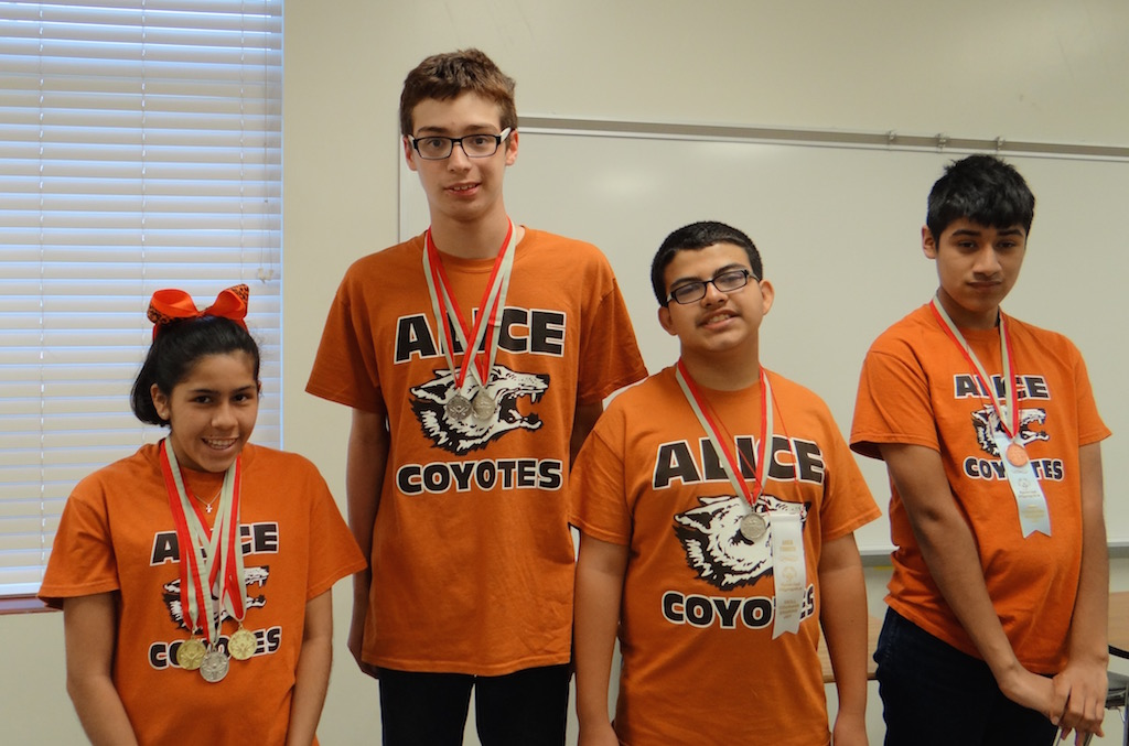 Special Olympic Winners