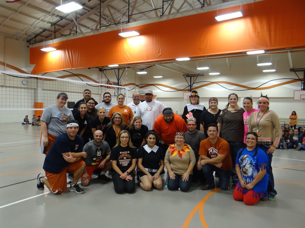 Staff Volleyball Game