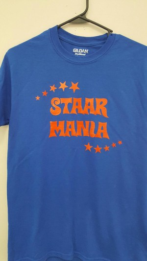 STAAR MANIA t-shirts on sale now