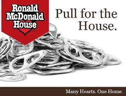 Pull all your can tabs and bring them to the school.