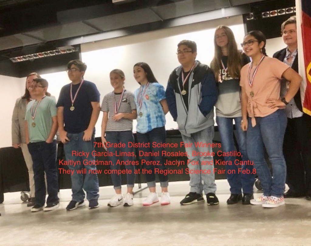 District Science Fair Winners