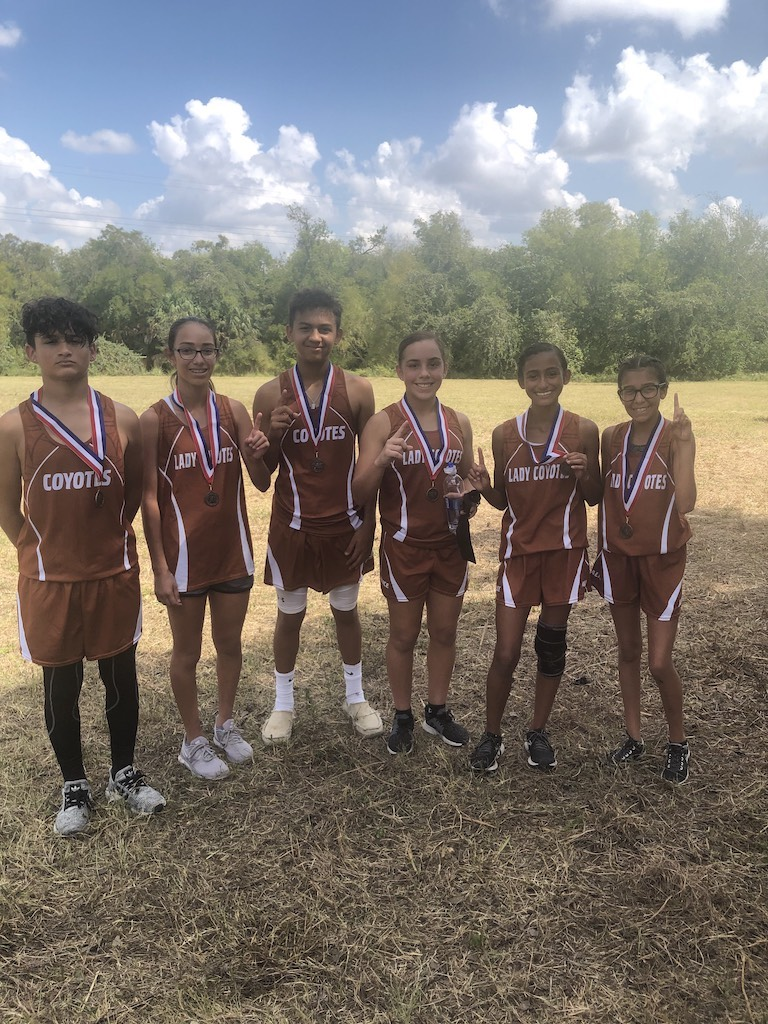 Cross Country Medalists-Beeville Meet