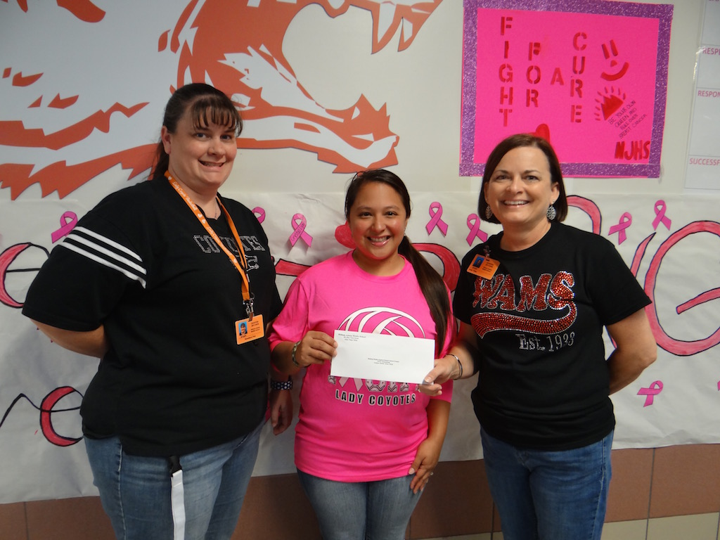 Donation to Making Strides Against Breast Cancer