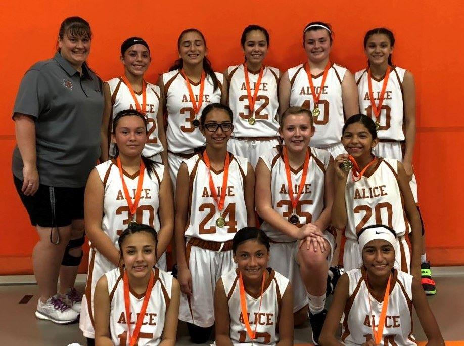 7th Grade A Team Tournament Winners