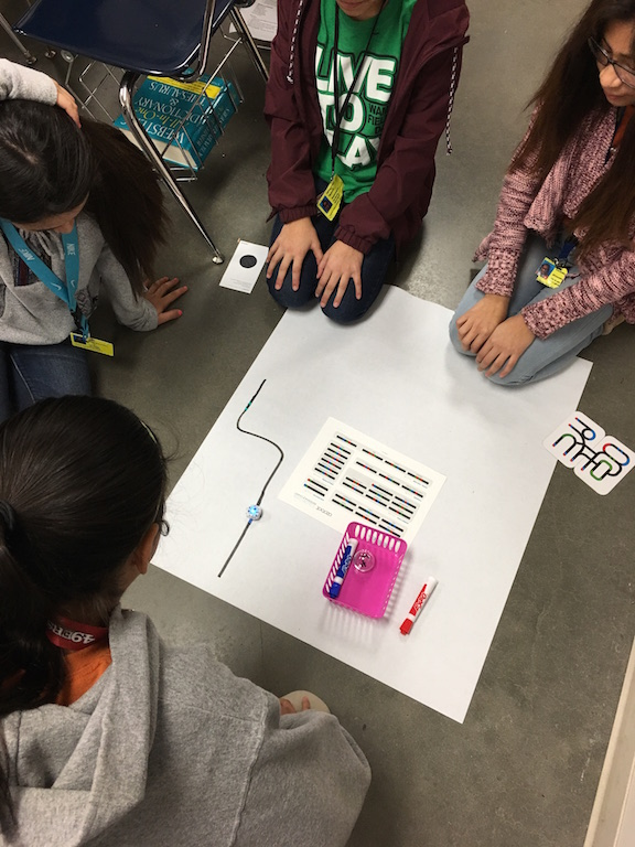 Having fun with Ozobots in Goodle Classroom
