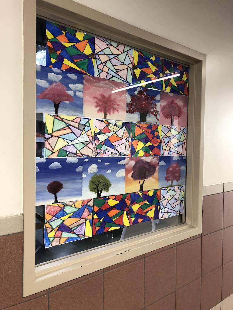 Art class display