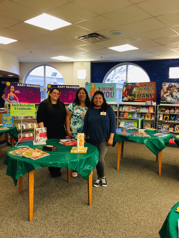 Thank you to our parent volunteers for setting up the Book Fair