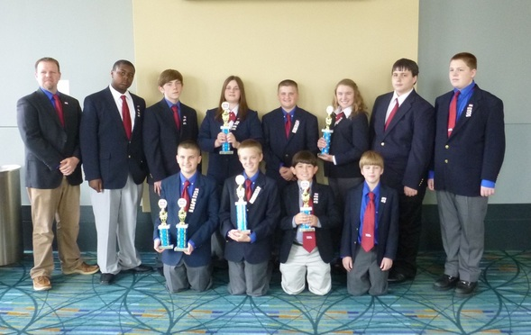 St. Clare Walker Middle School's TSA Chapter