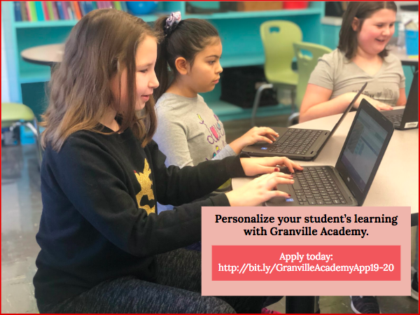 Granville Academy Application