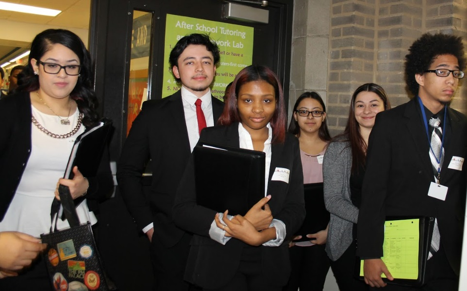 Dream Team:  Students Dress for Success