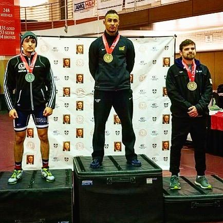 Alumni Chris Gonzalez wins USA Wrestling Trials