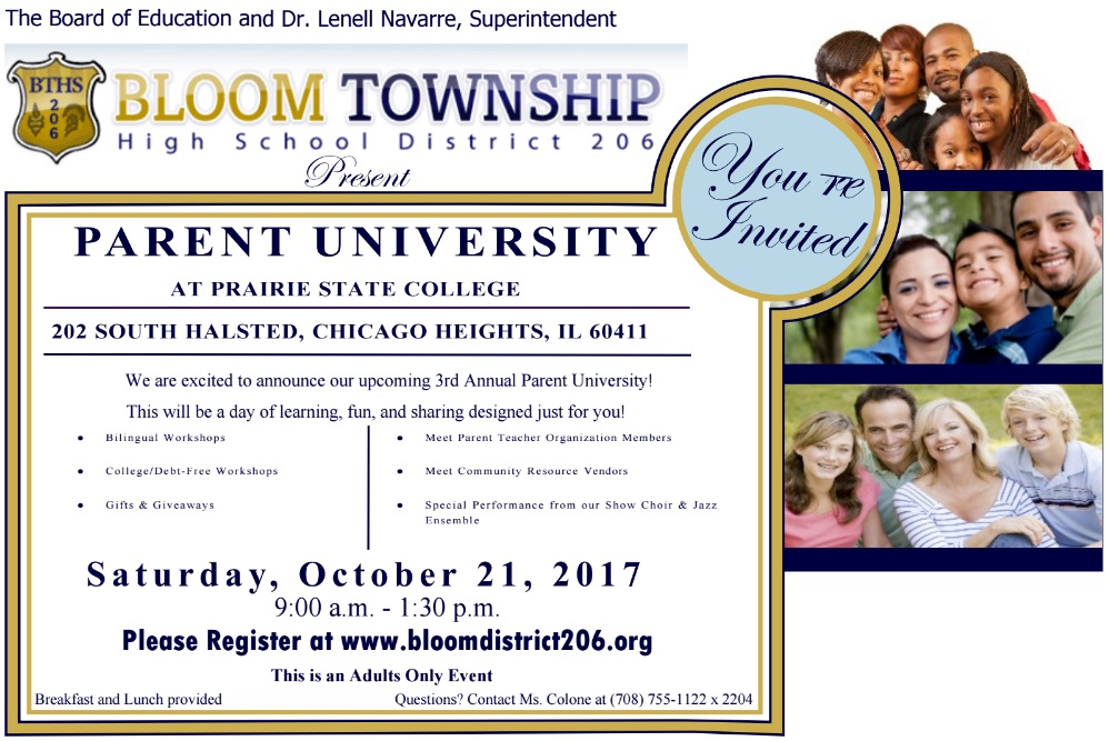 Click Here to Register for Parent University