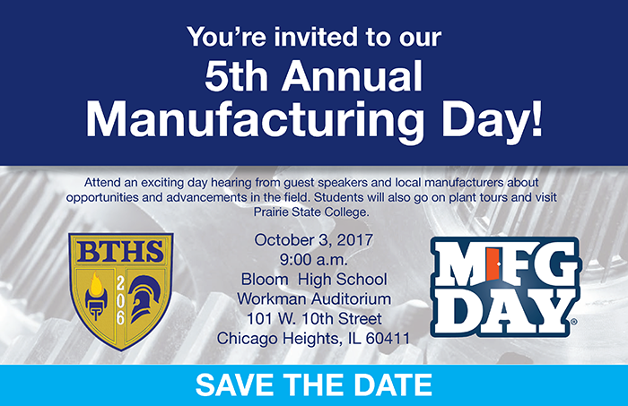 Save the Date for Manufacturing Day!