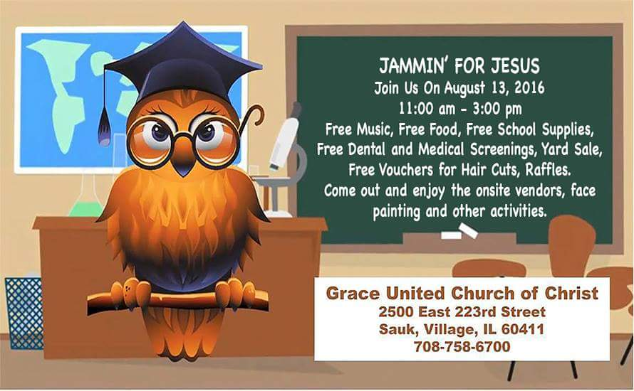 Back-to-School Event: Jammin' for Jesus