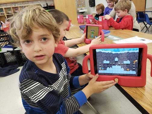 Even Kindergarteners can code!