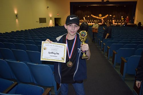 Grayson County Spelling Bee Winner